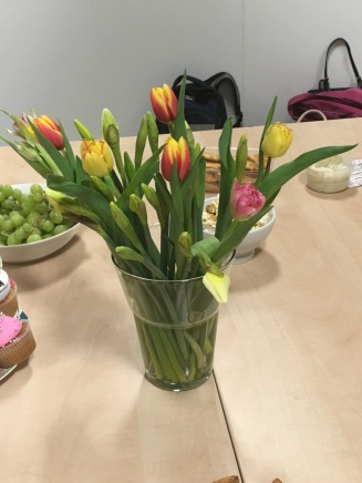 Well, it was a Spring Blogger event!